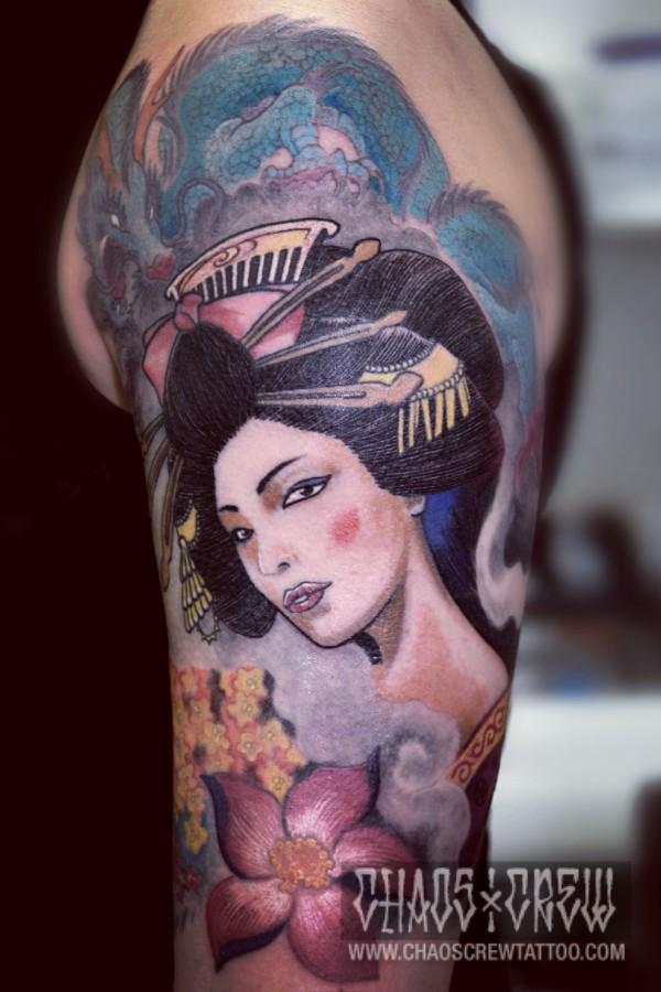 db3d743dc japanischen Tattoos schmücken den Körper nicht nur, sondern erzählen ganze  Geschichten. Erzähl uns Deine!