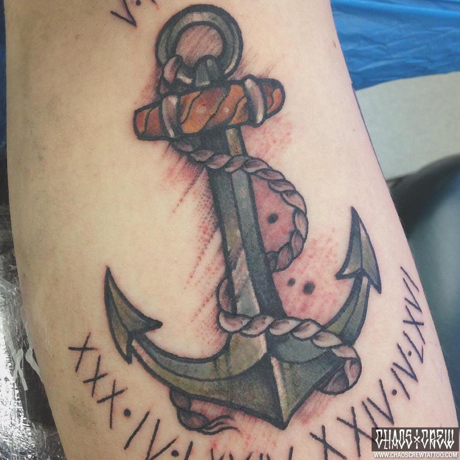 Mann tattoo oldschool unterarm 35+ Idea